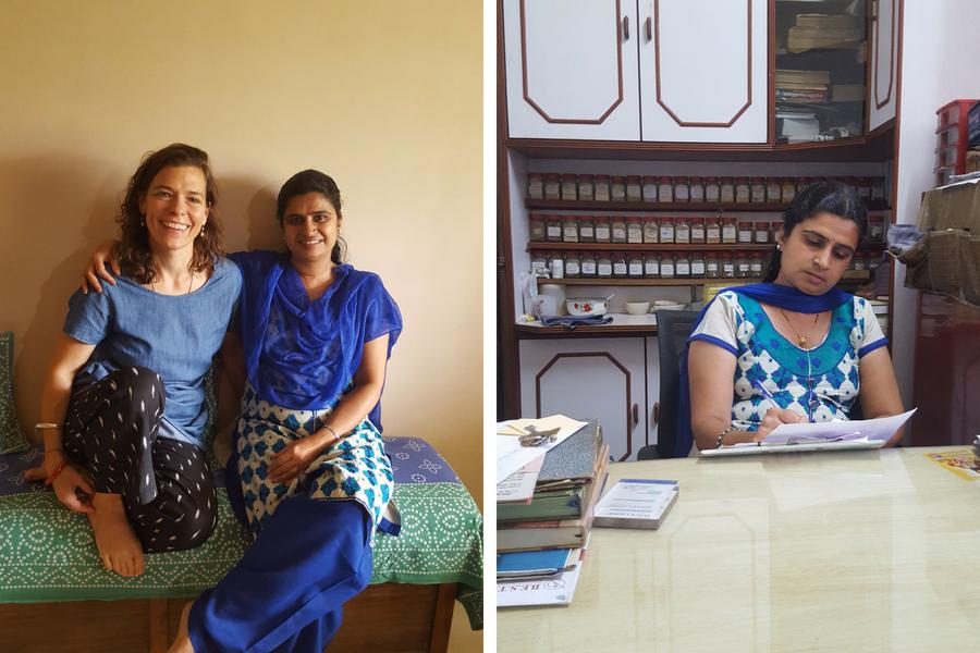Frau Dr. Chitra Bedekar ist eine hervorragende Ayurvedaärztin aus Indien.
