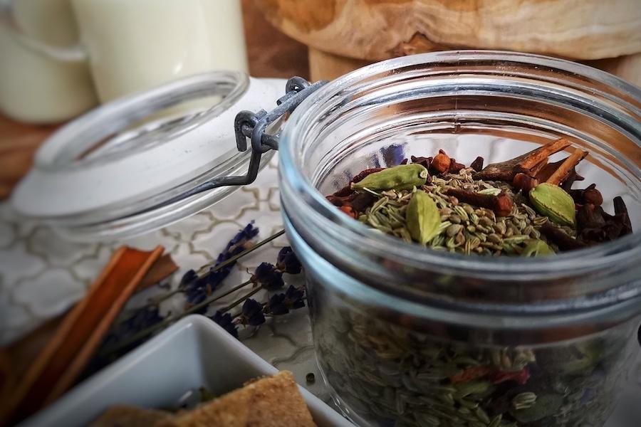 Ayurvedischer masala chai